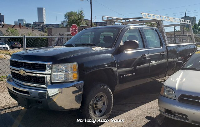 2008 Chevrolet Silverado 3500HD Work Truck Crew Cab 4WD 6-Speed A