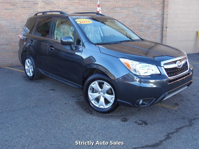 2015 Subaru Forester 2.5i Limited 6-Speed Automatic